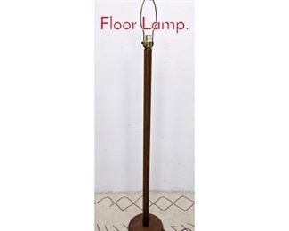 Lot 1370 Danish Modern Teak Floor Lamp.