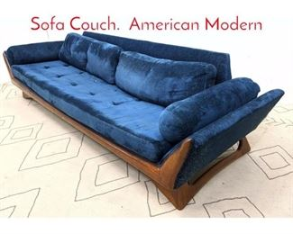 Lot 1371 Adrian Pearsall Attributed Sofa Couch. American Modern