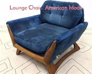 Lot 1372 Adrian Pearsall Attributed Lounge Chair. American Mode