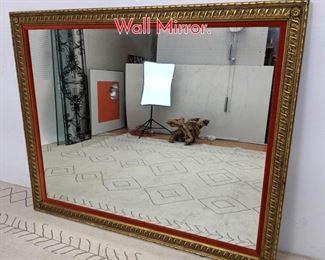 Lot 1385 Large Fancy Gilt Frame Wall Mirror.
