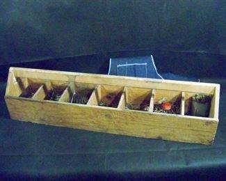 Carpenter's Nail Box and Apron