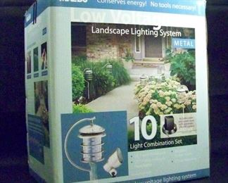 Malibu low voltage landscape lighting system