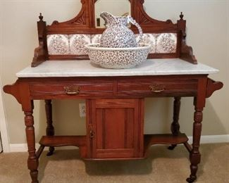 Antique English Washstand