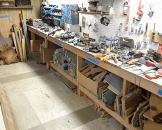 Lots of small specialty wood working tools