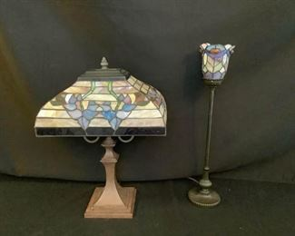 Stag Glass Tiffany Style Lamps