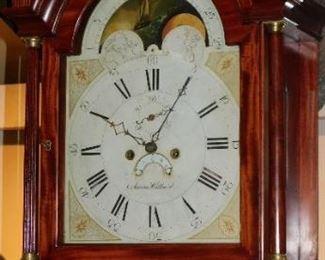 Important Aaron Willard tall clock