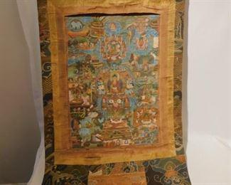 18th century Tibetan Thanka