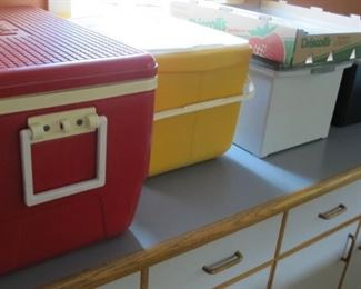 Coolers new and used