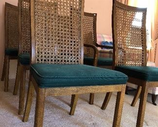1970's green chairs!