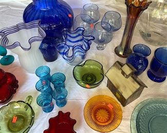Antique and Vintage Art Glass