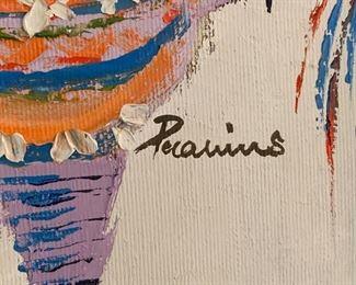*Original* Art Kids on Piñatas Painting34x33x2inHxWxD