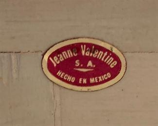 1960s Mexican MCM Jeanne Valentine Sideboard/Buffett35x60x20.5inHxWxD