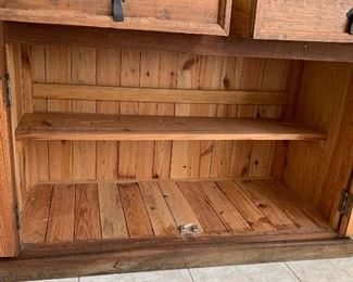 Rustic Mexico Cabinet35.5x46.5x21HxWxD