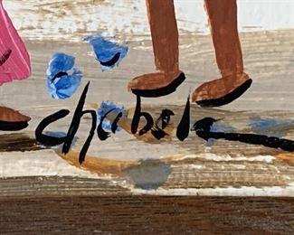 *Original* Art Chabela Elizabeth C. Haas Bunuelos Painting21.5x25.2HxWxD