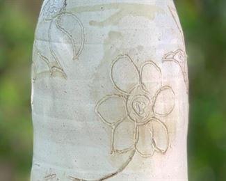 #2 C Gattii Ceramic Bell Lg Hummingbird10.5 in H x 6.5in Diameter