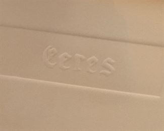 *Signed* Martin Barooshian Intaglio Etching Ceres II/XV27x21x.5inHxWxD
