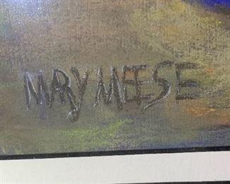 *Original* Mary Meese Pastel31x26.5x.5inHxWxD