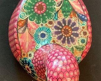 Rogelio DE J Mexico Ceramic Folk Art Duck7x.4.5c8inHxWxD