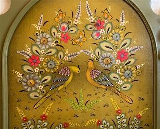 #2 Ser Mel Tonala Mexico Twin Headboard68x44x6.5inHxWxD