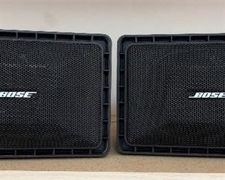 2pc Bose Roommate II Powered Speakers