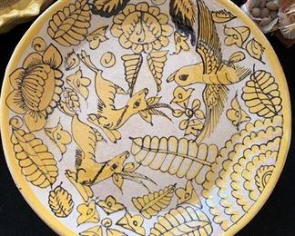 Mexican Folk Art Dishes