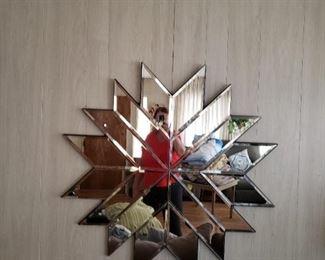 Beautiful custom mirror