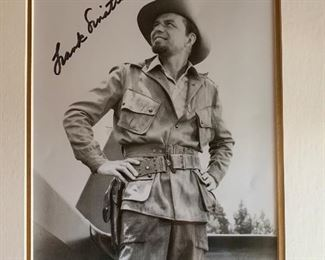 Autographed Picture Of Frank Sinatra