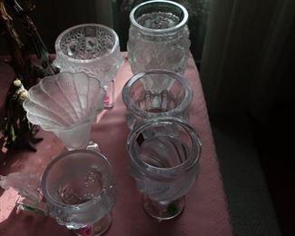 Several Lalique pieces