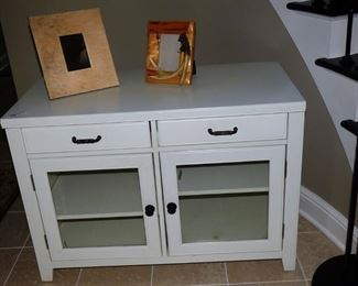 $48.00 White Utility Cabinet