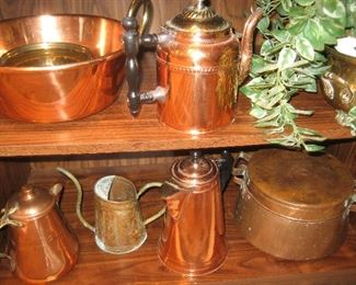 Assortment of copper
