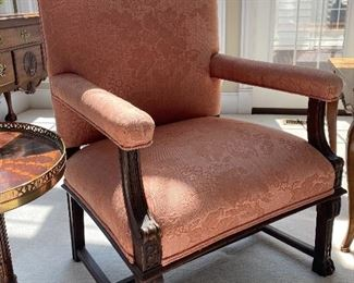 PAIR OF THESE ARM CHAIRS