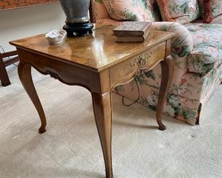 PAIR OF LAMP TABLES BY BAKER