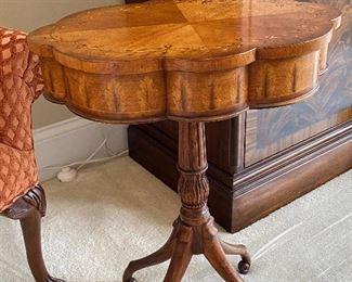 A BEAUTIFUL SECRET  TABLE - TOP SWIVELS OPEN