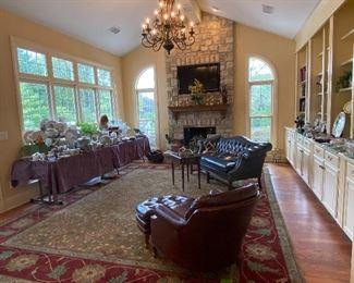 THE GREAT ROOM OFF KITCHEN