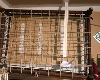 Antique Rope Trundle Bed
