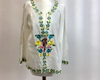 Lily Pulitzer Embroidered Tunic.