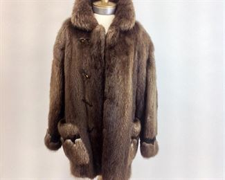 D'Arcy Moses Indian Nation Fur Coat / Jacket.