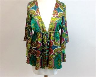 Alice & Trixie Silk Tunic.