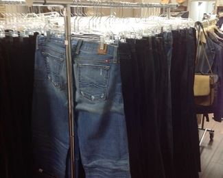 Large Selection of Jeans.