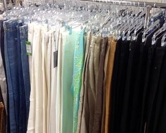 Large Selection of Jeans and Dress Pants.