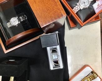 Assorted Watches by Gucci, August Steiner, ak Adele Kaye Beverly Hills and others