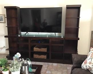 Television is not for sale!! Only the Entertainment Center.