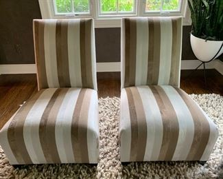 """36. Pair of Donghia Accent Chairs (24"""" x 26"""" x 31"""")"""