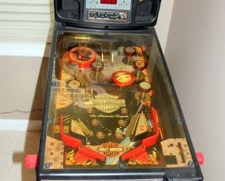 Small Harley Davidson Pinball Machine