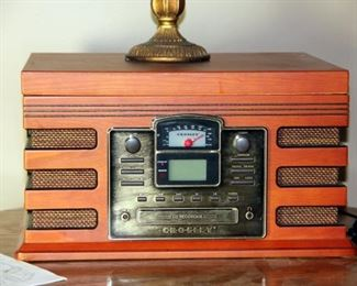 Crosley CR248 Phono / Cassette/ CD Recorder/ Turntable