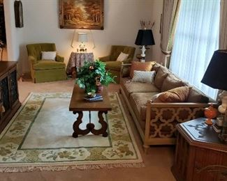 Overview of Formal Living Room