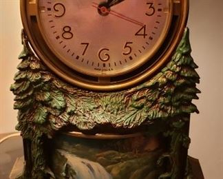 Master Crafters Waterfall Table Clock