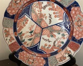 """Cheng Hua Plate 13""""D"""