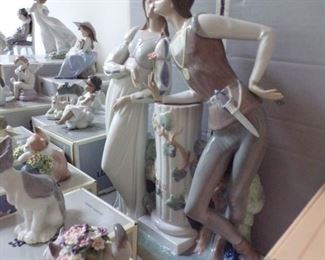 40 Pieces of Lladro in this sale