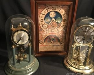 3 Clocks 2 Anniversary 1 Nestles Cooking Clock